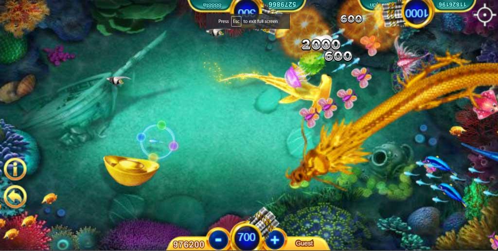 เกมคาสิโนออนไลน์ ยิงปลา